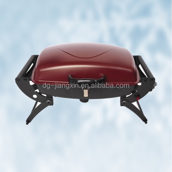 CE certified single burner foldable gas grill for promotion