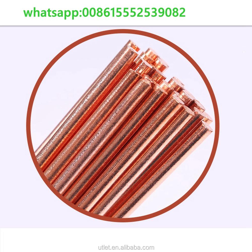 4 5 6 8 10 12mm x 355mm COPPER COATED GOUGING CARBON RODS Electrode