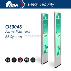 EAS Antenna Security Gate RF Anti Theft System Beautiful Security Alarm System with ADV ONTIME OS0043