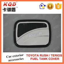 Car accessories ABS black&chrome tank cover for toyota rush high quality 4*4 exterior accessories