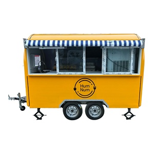 Mobile Used Food catering trailers Fast Food concession trailer