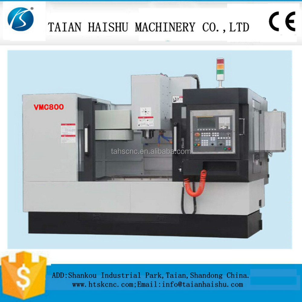 Vertical machining center with Tool magazine: Taiwan's armless library.