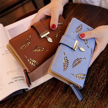 Wholesale 2019 TOP sell   Women's Pu Leather Zip Around Wallet ladies  Clutch