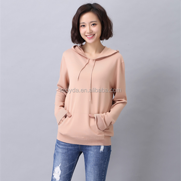 Fashion design girls sweater korean casual hoodie dress with free shipping for 2 pieces order