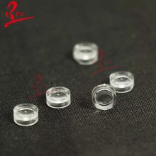 Diamter 7 mm Focal length 11 mm biconvex lenses ,double convex lenses for LED
