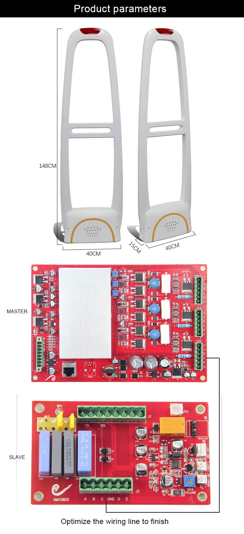 58 Khz antena sistema eas am anti