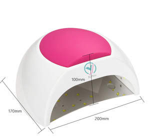 New Professional 2 In 1 Sun Light 48w Gel Led Nail Uv Lamp for Nail Art