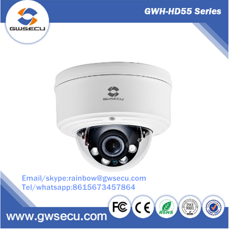 GWSECU panorama security ip cctv camera IP67 IK10 at manufacturer wholesale price