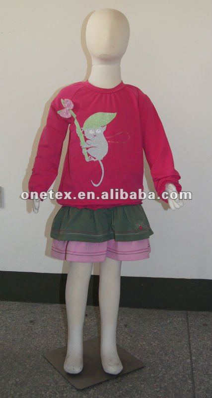 Girl's T-shirt and skirt sets