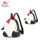 Christmas gift !! Newest wholesale trend matching bag mother and daughter black white red PU penguin cute backpack