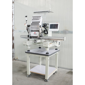 latest flat embroidery/cap embroidery single head embroidery machine