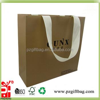 Custom Cheap Plain Eco Friendly Strong Large Brown Kraft Paper