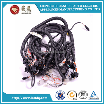excavators cab harness construction machine wiring harness buy liugong loader cab harness 08c6718,construction machine wire harness,wiring harness  wiring harness construction #11