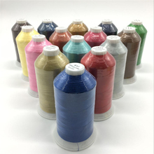 High quality Embroidery Viscose Rayon Thread 120D/2 5km Filament Yarn for sewing