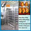 cooking baking smoking function fish sausage meat fish chicken bacon meat smokehouse for sale