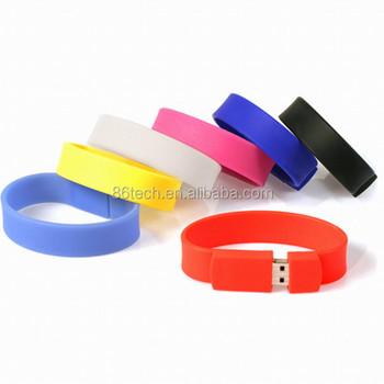 Silicone Bracelet Usb 3 0 Memory Stick Flash Pen Drive 8gb 16gb 32gb