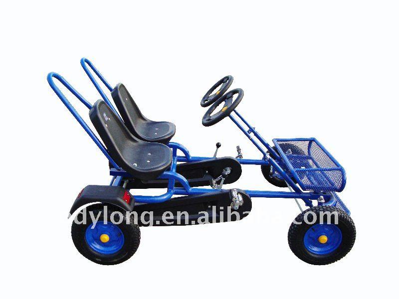 Dual Person 4 Wheels Bike Amusement Park Go Kart Buy 4 Wheel