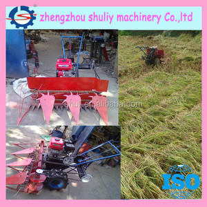 Lowest price rice reaper/wheat harvester machine/barley reaper