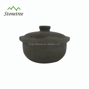 New Food Containers Lava Stone Pot