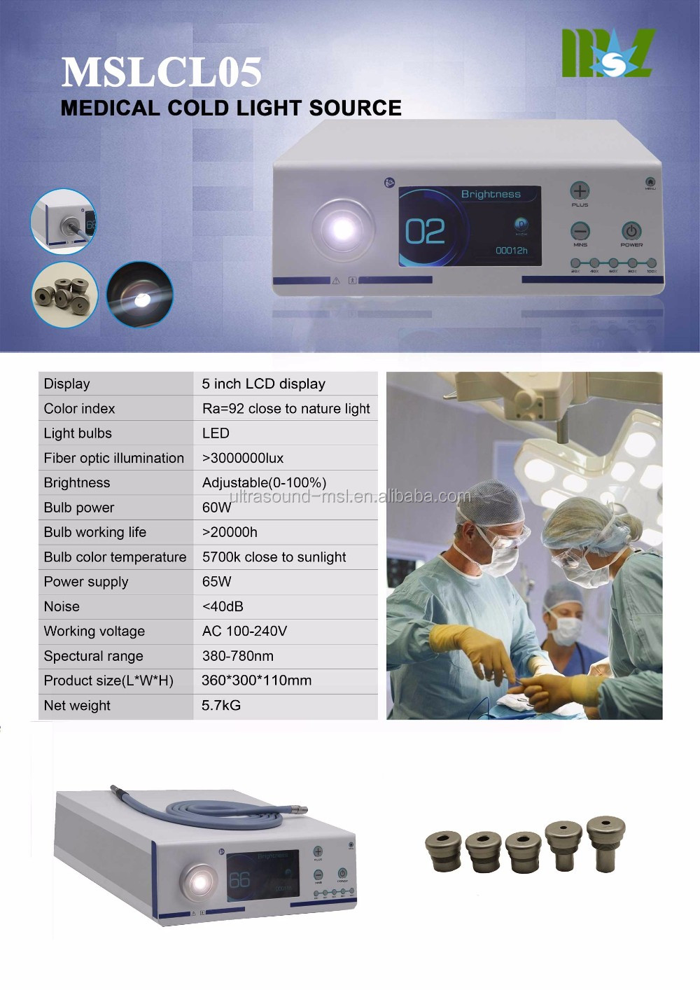 Endoscopy Room Set Up: 2018 New Technology Medical Endoscope Camera Led Cold