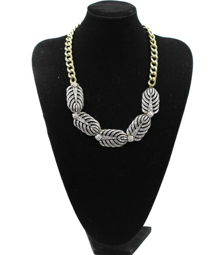 Free Shipping new arrived 2013 Fashion women choker chunky luxury chain party chunky statement necklace Factory Price