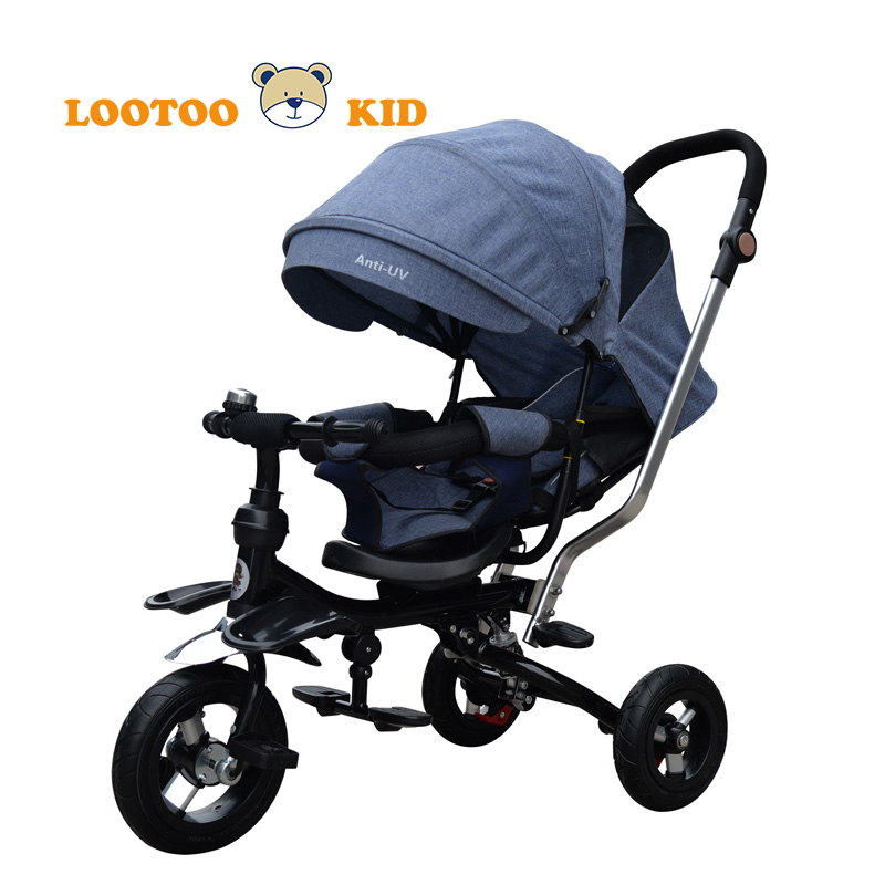 OEM three wheels kid bicycle for 3 years old children / metal trikes for toddlers / new design tricycle baby stroller