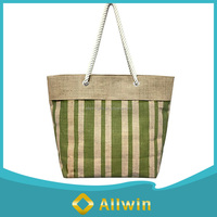 Durable Jute Tote Bag Beach Bag For Travel Or Shopping