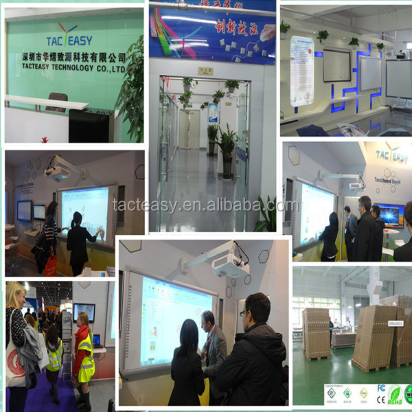 Hotseller Gesture recognition interactive whiteboard infrared interactive electronic whiteboard