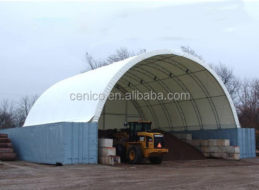 Trussed frame shipping Container shelter, storage shelter, car shelter