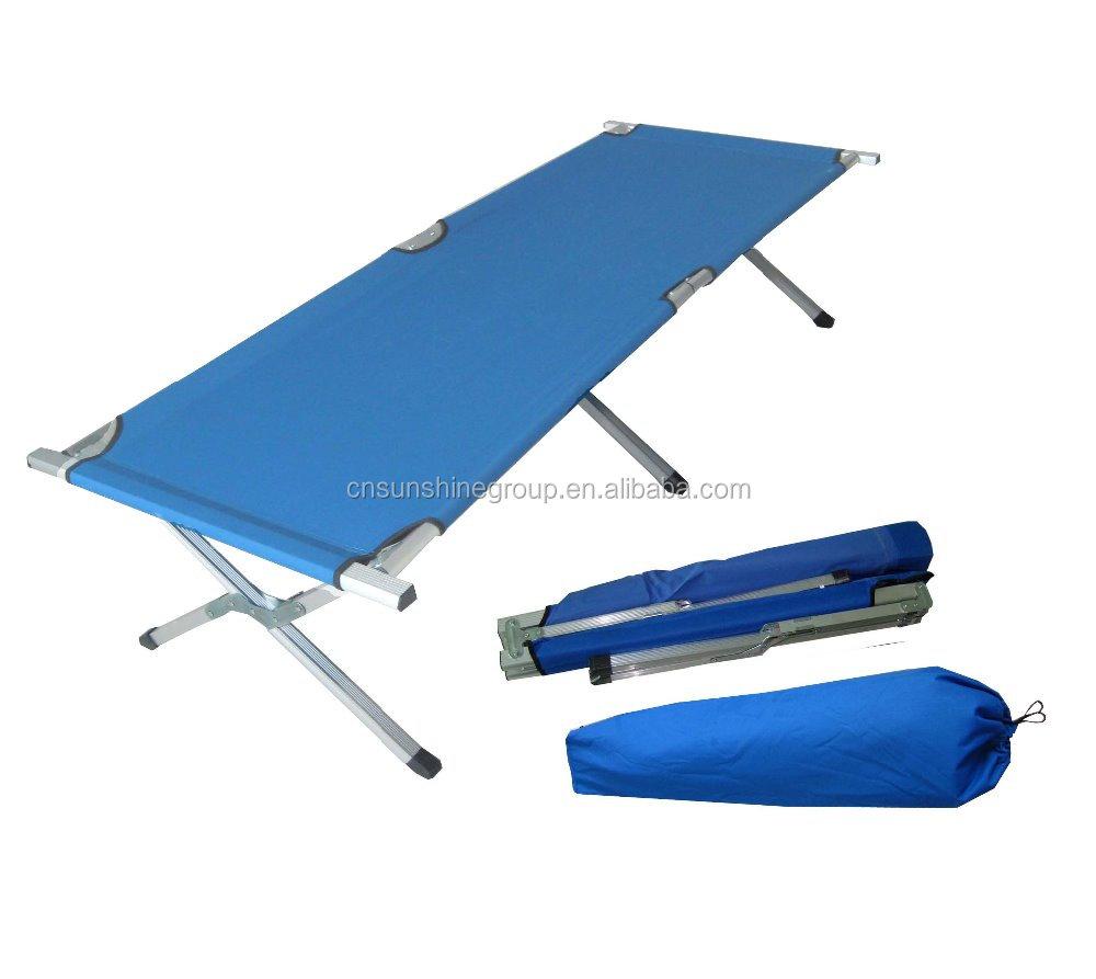 Barato ejército cama cama plegable cama de camping portátil de ...