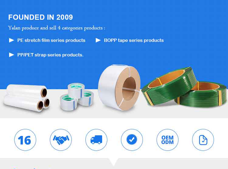 4000mx1280x50mic china factory price bopp adhesive jumbo roll