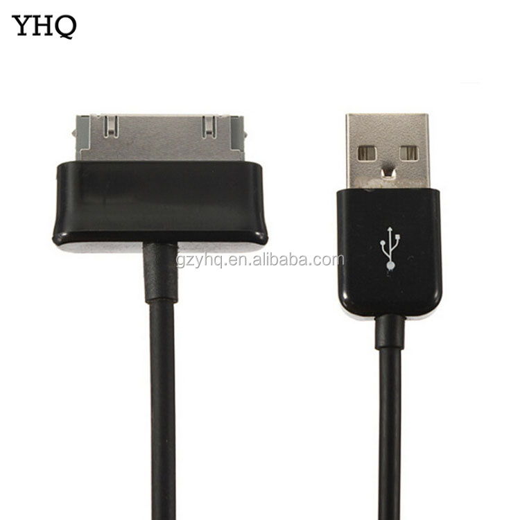 Black high quality For Samsung Galaxy Tab P1000 Usb Charging Cable