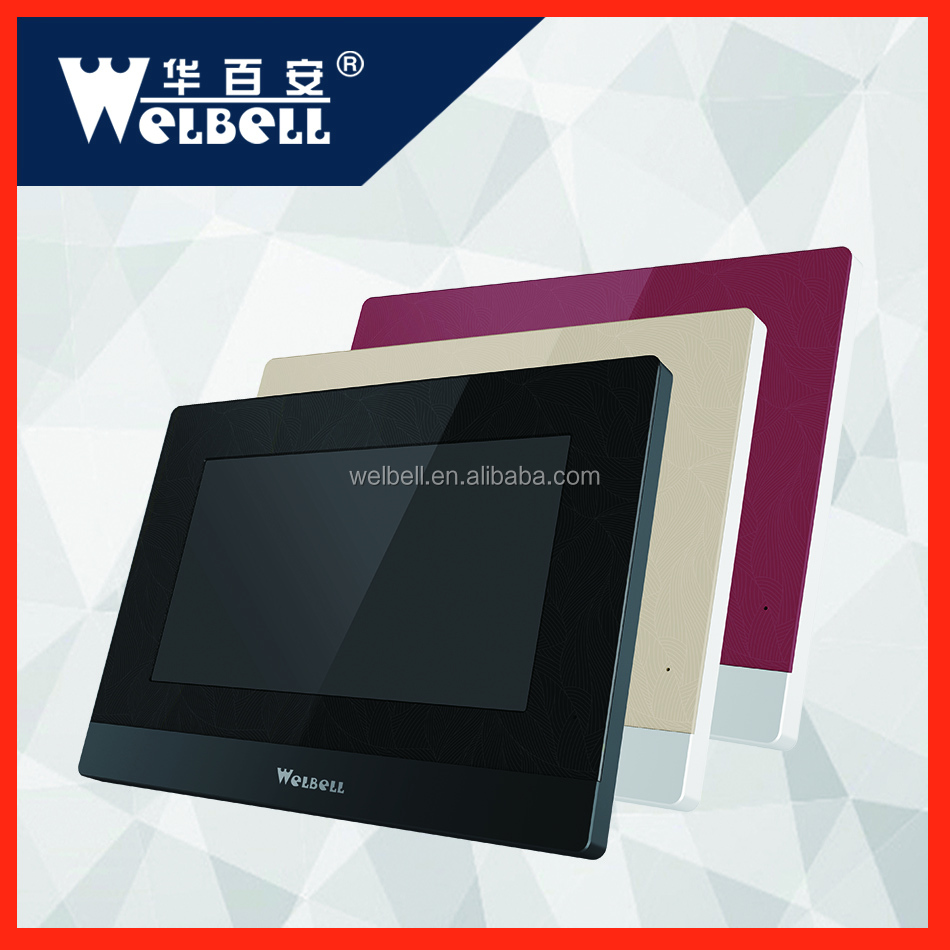 7 Inch Wireless IP Video Door Phone for Apartments