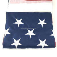 Embroidered Stars Sewn Stripes U.S. Nylon US Flag 3 x 5 Ft American flag of High Quality