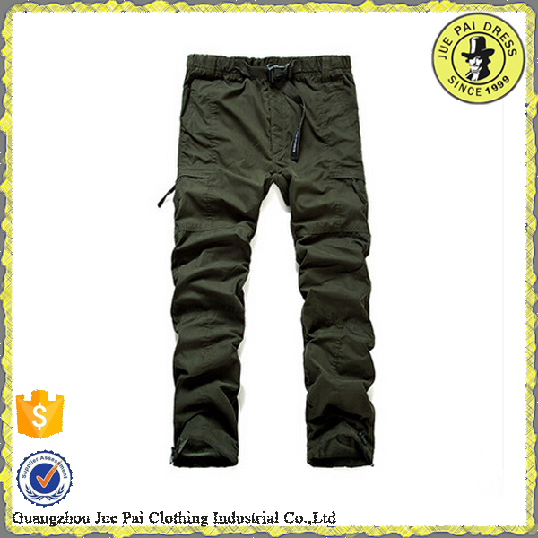 Elastic Waist Cargo Pants, Elastic Waist Cargo Pants Suppliers and ...