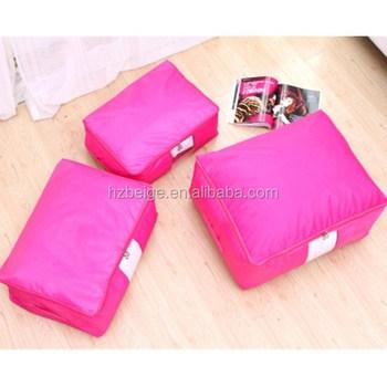 bo tes de rangement glissi re m nage oxford tissu grande fermeture clair sac de rangement. Black Bedroom Furniture Sets. Home Design Ideas