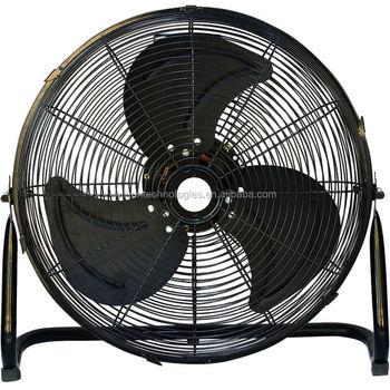 18 inch industrial metal floor fan with powerful motor and for 18 industrial floor fan