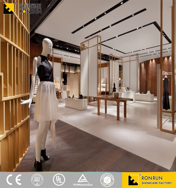 2017 New Rcs2223 Style Retail Garment Shop Interior Design Ladies ...