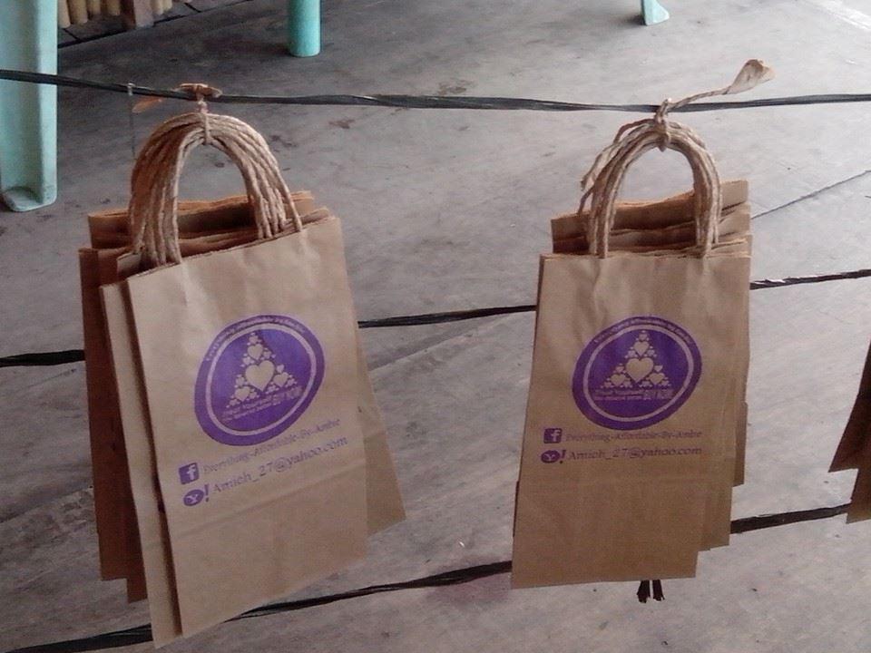 Philippines Bag Of Paper, Philippines Bag Of Paper