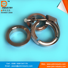 Stainless Steel V Band Clamp With Male and Female Flanges