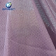 supply yarn dyed 100% polyester purple bag mesh material cloth fabric for sale