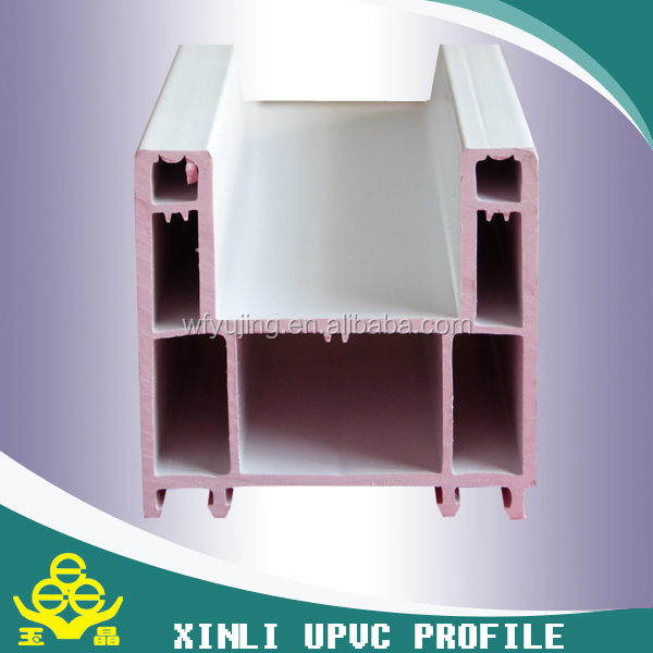 White pvc profile frame /upvc profile /plastic raw materials