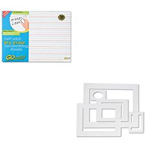 KITPAC72500PACASB8511LN - Value Kit - Pacon Pre-Cut Mat Frames for Photo/Art (PAC72500) and Pacon GoWrite Dry Erase Handwriting Sheets (PACASB8511LN)