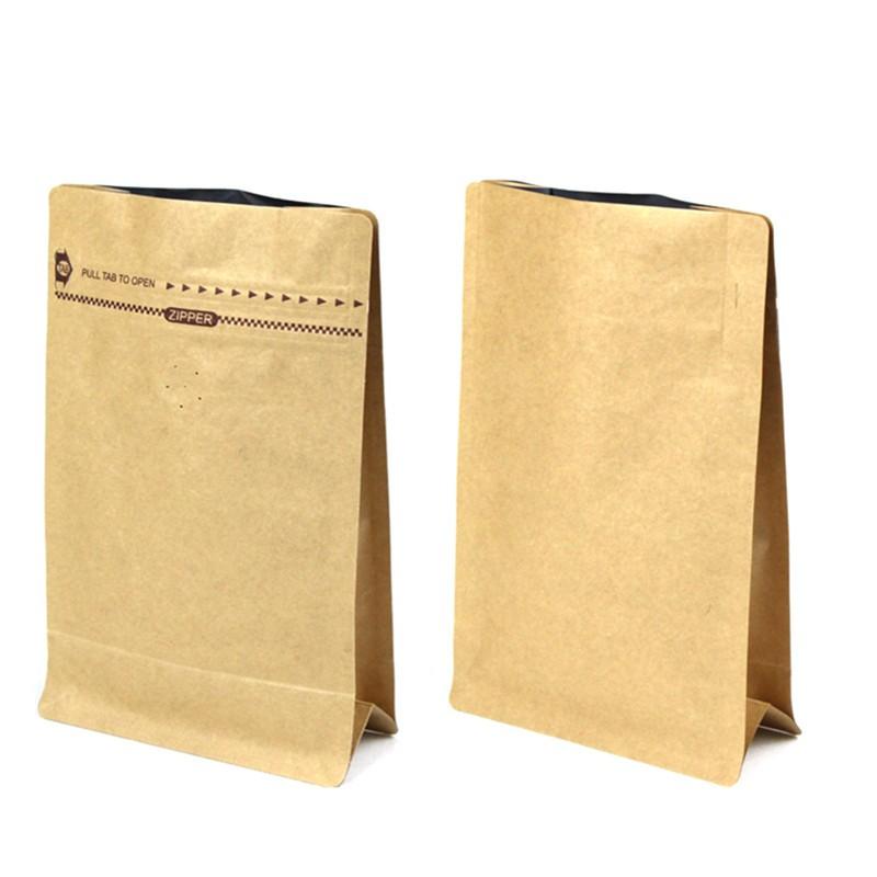 Paper Bag Empty Tea Kraft Coffee