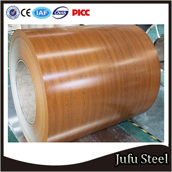 China ral 9014 ppgi for exporting coil and sheet PPGI COILwood grain steel coils in China