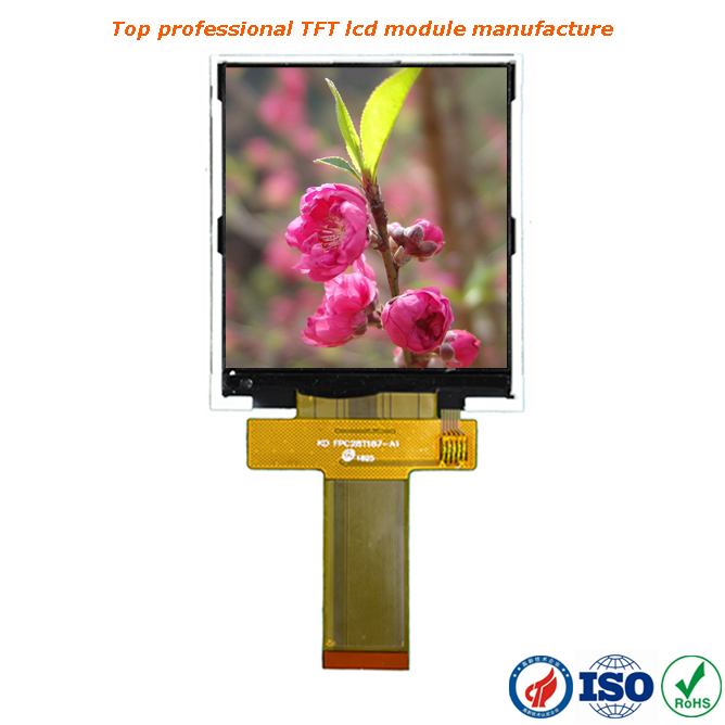 portrait type 320x480 TFT 3.5 inch lcd with RGB/MCU/SPI/MIPI interface