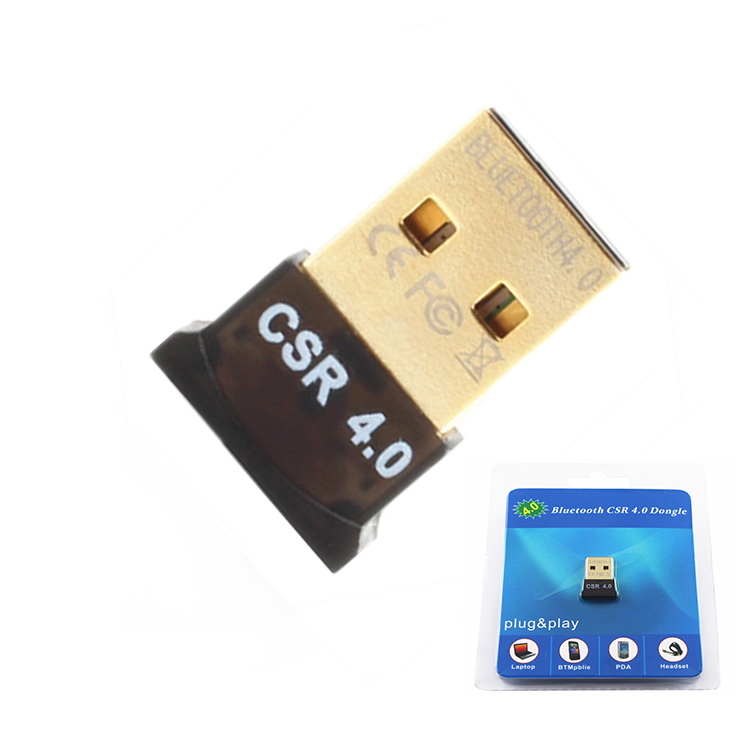 Wilreless Bluetooth 4.0 USB dongle support Win7/8/10/xp/vista