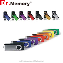 Dr.memory Top selling Full capacity swivel USB flash drive with 4GB/rotatable 8GB Memory stick/ 16GB/32GB/ 64GB twist Pen drive