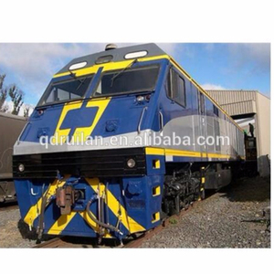 3,300HP mix traffic diesel electric railway locomotive and coal hopper wagon and flat wagon
