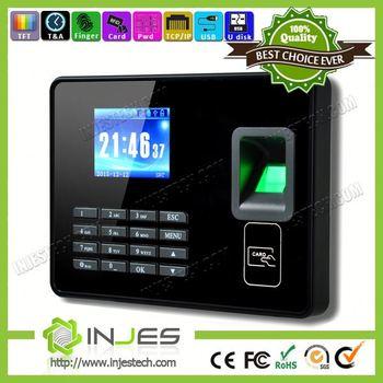 injes customize logo wifi free sdk api fingerprint time keeper buy
